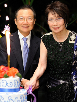 Dr Hector and Mrs Ada Ma