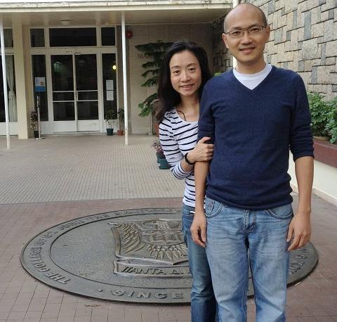 Mr and Mrs Chau Kwok-ming