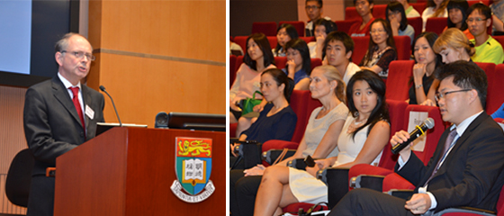 Professor John Spencer gave a public lecture on ''Criminalising sickness? Liability for the transmission of disease''.