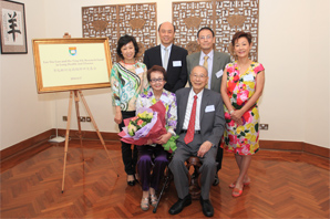 Two Families Joined Hands to Support Research in Lung Health and Disease