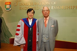 A further $5 million donation from Mr George Ho to support needy law talents from the Mainland