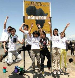 Young Eco Leaders in Nature Conversation: A HKU's Student Field Trip to Africa