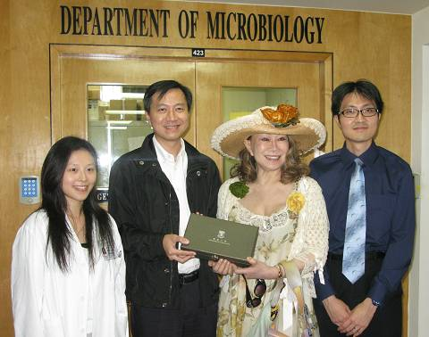 Charity Book Sale raises funds for the Department of Microbiology