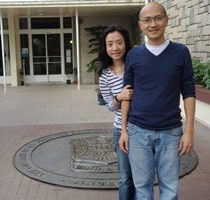 Alumni couple celebrate a milestone in life with their alma mater