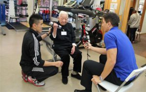 Project GrandMove to Promote Elders' Robustness against Frailty