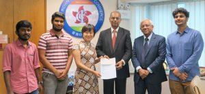 Research internship internationalized the HKU learning environment