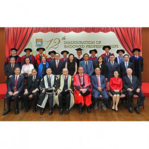 The Twelfth Inauguration of Endowed Professorships