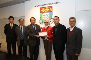 Financially needy students receive a monetary boost for their studies from the Hong Kong and Macau