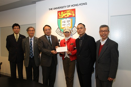 Financially needy students receive a monetary boost for their studies from the Hong Kong and Macau Taiwanese Charity Fund