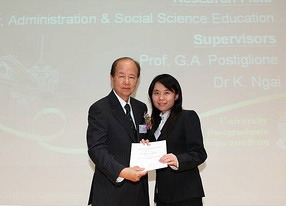 Outstanding researchers receive recognition at the HKU Graduate School Award Presentation Ceremony
